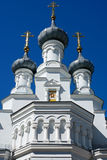 Kronstadt, a fragment of an Orthodox Cathedral Stock Images