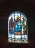 Kronstadt Kathedrale Sankt Nikolaus (Meer) stockfoto