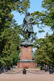 Kronstadt, monument to Peter I Royalty Free Stock Photos