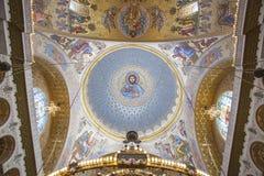 Kronstadt Morska katedra Zdjęcia Stock