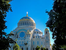Kronstadt Naval Cathedral, Russia Stock Image