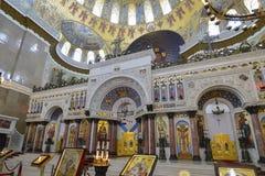 Kronstadt nicholas katedralny morski st Zdjęcie Royalty Free