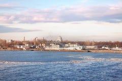 Kronstadt. Port city on the island of Kotlin Royalty Free Stock Photo