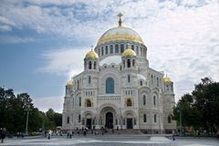 Kronstadt sjö- domkyrka Royaltyfria Bilder