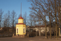 Kronstadt tide gauge Royalty Free Stock Photography