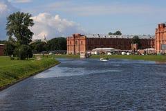 Kronvertsky canal Royalty Free Stock Photo