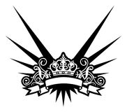 Kroon stock illustratie