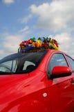 Kroon in de auto Royalty-vrije Stock Afbeeldingen