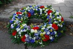 Kroon van bloemen Stock Foto's