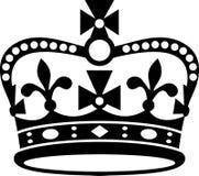 Kroon van het pictogram van Groot-Brittannië vector illustratie