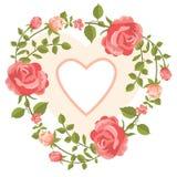 Kroon van rozen Stock Foto's