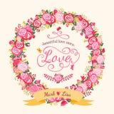 Kroon van rozen Royalty-vrije Stock Afbeeldingen