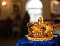 Kroon voor huwelijk royalty-vrije stock afbeeldingen