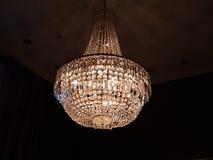 Kroonluchter de la lámpara Fotografía de archivo libre de regalías