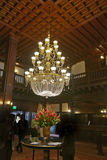 Kroonluchter in Hotel del Coronado Stock Fotografie