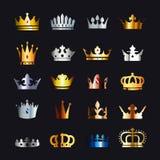 Kroonreeks Royalty-vrije Stock Fotografie