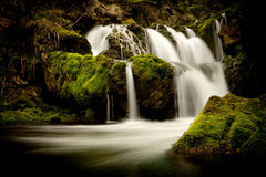 Kropa Wasserfall Stockbild
