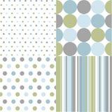 kropek wzorów polka bezszwowa Zdjęcie Stock
