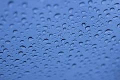 kropel szkła deszcz Fotografia Stock