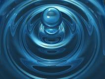 kropel wody Zdjęcie Stock