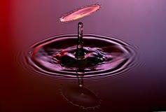 kropel wysoka fotografii prędkości woda Zdjęcie Royalty Free