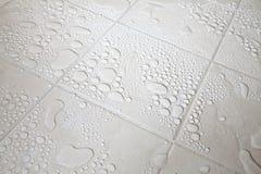 kropelek podłoga taflująca woda Fotografia Royalty Free