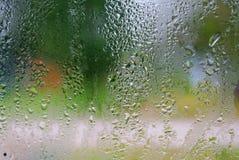 kropelek szkła woda Zdjęcie Royalty Free