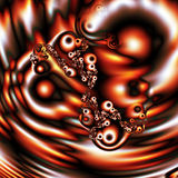 kropelki fractal 46 a royalty ilustracja