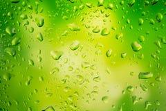 kropelki szklanek wody Obraz Royalty Free