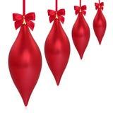 kropelkowe Boże Narodzenie dekoracje royalty ilustracja