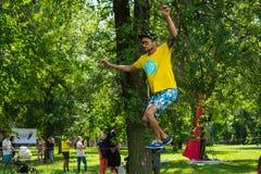 "Kropivnitskiy, UKRAINE-†""29 JULE, 2017: JA FEST-Festival, pro stockfoto"