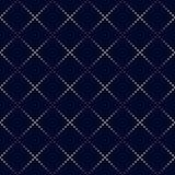 Kropka prostokąta wzór Geometryczny wektorowy tło w halftone Obraz Stock