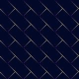 Kropka prostokąta wzór Geometryczny wektorowy tło w halftone Fotografia Royalty Free