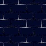 Kropka prostokąta wzór Geometryczny wektorowy tło w halftone Obrazy Stock