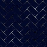 Kropka prostokąta wzór Geometryczny wektorowy tło w halftone s Zdjęcia Royalty Free