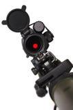 kropki czerwony karabinu widok Fotografia Stock