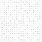 kropki deseniują bezszwowego Abstrakcjonistyczna piksel tekstura Wektorowi Ñ  ircle półdupki royalty ilustracja