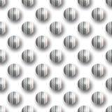 kropki deseniują bezszwowego polka Zdjęcia Royalty Free