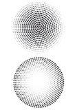 kropki halftone wzór Fotografia Stock