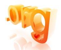 kropki internetów org Zdjęcia Stock
