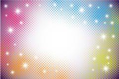 kropki kolorowy techno Ilustracji