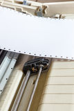 Kropki matrycowa drukarka Fotografia Stock