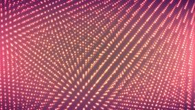 Kropki Rozjarzony tło Techno pojęcia abstrakta przestrzeń Technologii Digital pojęcie również zwrócić corel ilustracji wektora Obraz Stock