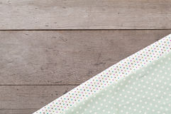 Kropki tkaniny tekstura Obraz Stock