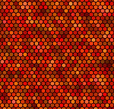 kropki wzoru czerwień bezszwowa Obrazy Stock