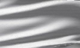 Kropkowanego halftone popielaty tło Deseniowy sukienny geometryczny grunge Zdjęcie Stock