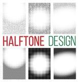 Kropkowany halftone Zdjęcie Stock