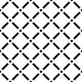 Kropkowany siatki siatki wzór Kwadraty z okregów guzkami Bezszwowy, ilustracji