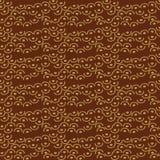 Kropkuje dekoracyjnego batikowego bezszwowego wzór Obraz Stock