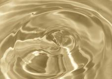 kroplę wody Piękny tło Zdjęcie Royalty Free